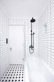 White On White Bathroom by Black And White Bathroom Tile Design Ideas Natural Home Design