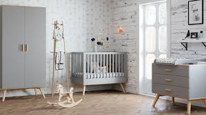 bébé 9 chambre chambre nautis lit 60x120 commode armoire gris vente en ligne de