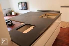 refaire un plan de travail cuisine chambre enfant plan de travail cuisine en béton ciré cuisine plan