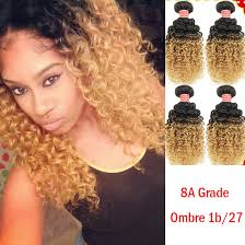 curly extensions 8a curly hair extensions two tone 1b 27 ombre