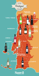 Italy Wine Regions Map Map Of The Wine Regions Of Portugal Portuguese Wine Map
