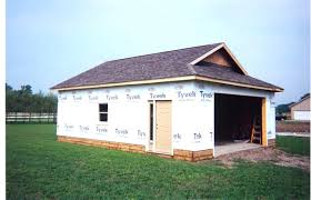 image of attached garage addition plans for 2 cargarage add on