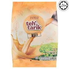 X Teh tesco 3 in 1 original teh tarik 15 x 40g tesco groceries