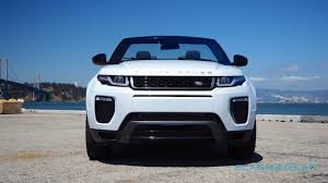range rover evoque rear range rover evoque convertible review droptop suv an acquired
