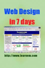 tutorial desain web pdf web design in 7 days tutorial by siamak sarmady free book download