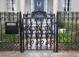 fence ornamental iron fence entertain ornamental iron fence