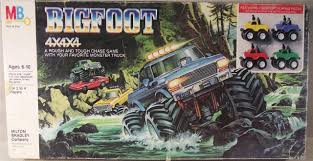 monster trucks bigfoot amazon com vintage 1984 milton bradley monster truck bigfoot