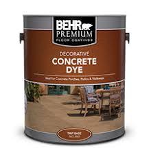 decorative concrete dye behr premium behr