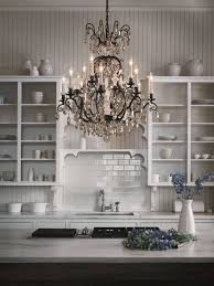 kitchen glamorous crystal kitchen chandelier design kitchen
