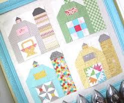169 best quilt blocks houses images on pinterest house quilts