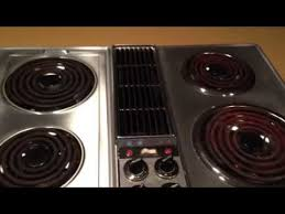 Jenn Air Gas Cooktop Troubleshooting Jenn Air Electric Range Burners On High Youtube