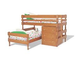 Loline Longwall Bunk Bed With Loline Chest And Underbed Drawers - Lo line bunk beds