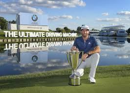 bmw tournament dustin johnson taken to task for constant spitting at bmw