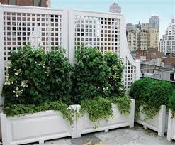 custom roof deck planters from walpole woodworkers