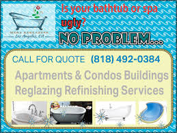 California Bathtub Refinishers Residential Reglazing Services