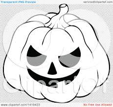 halloween bats transparent background clipart of a black and white carved halloween jackolantern pumpkin