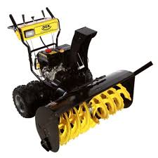 dek 45 in commercial 420cc electric start 2 stage gas snow blower