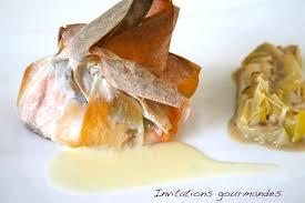 comment cuisiner poireaux croustillant de saumon aux chignons sauce au beurre blanc et