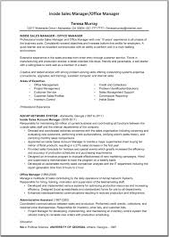 Software Project Manager Resume Sample by Resume Inside Sales Resume Sample