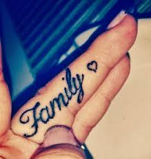 69 meaningful family tattoos designs finger and