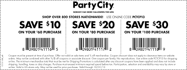 Spirit Of Halloween Printable Coupon by Free Printable Party City Coupon October 2017