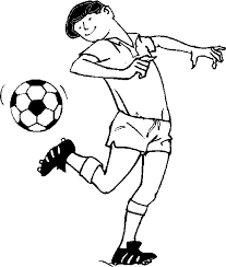 free soccer coloring free coloring pages kids