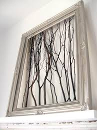 Terrific Tree Branches Decoration With Tree Branches In Silver