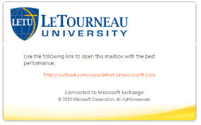 connect to email with letu webmail it knowledgebase letourneau