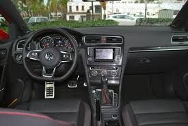volkswagen golf gti 2015 interior review get the performance pack and everything about vw u0027s golf
