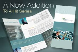 pages brochure template tri fold brochure template for a financial