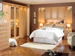 Bedroom Decorating Ideas For Two Beds Bedroom Small Bedroom With Recessed Cabinet And White Bed Cover