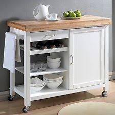 kitchen rolling island kitchen rolling cart butcher block top portable utility storage