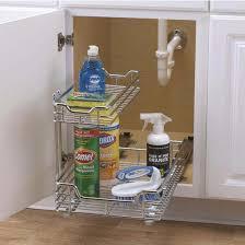 Sink Shelves Bathroom Sink Cabinet Organizers Sink Storage Pull Out