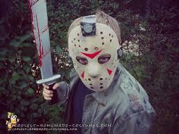 jason voorhees costume child s diy jason voorhees costume