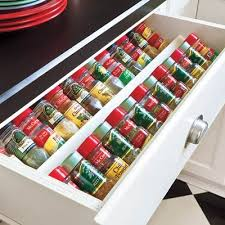 In Drawer Spice Racks 25 Smart Ways To Store Herbs And Spices U2013 Jewelpie