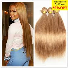 Blonde Weft Hair Extensions by Honey Blonde Brazilian Hair Weave Bundles Blonde Brazilian Virgin