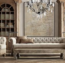 chesterfield sofa restoration hardware restoration hardware deconstructed chesterfield sofa