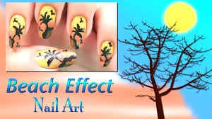 beach effect nail art design do it yourself khoobsurati com