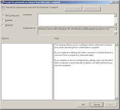 Resume From Hibernation Group Policy Setting Of The Week 11 U2013 Prompt For Password On