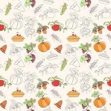 thanksgiving seamless pattern stock vector image 76864453