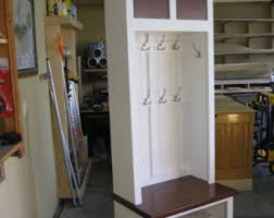 mudroom lockers entry furniture hall tree storage bench
