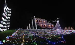 outside christmas light displays most beautiful outdoor christmas light displays pink lover