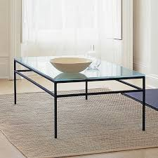 Glass And Metal Coffee Tables Attractive Iron And Glass Coffee Table Glass Top Coffee Tables