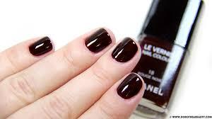 chanel nail polish rouge noir u2013 dorothea beauty