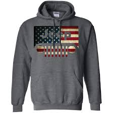 american flag jeep grill jeep lover american flag with jeep grille pullover hoodie 8 oz