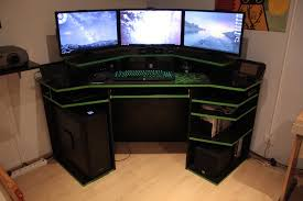 Gameing Desks Creative Cool Gaming Desks 11 Marvelous Gaming Workstation Desk