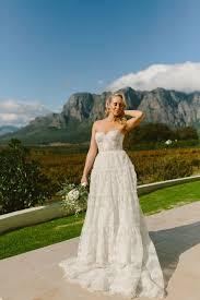 kobus dippenaar 2 in 1 wedding dress mini dress and overskirt