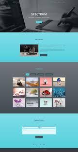 personal portfolio template spectrum free one page portfolio bootstrap website template