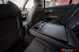 nissan gtr back seat 2013 holden vf commodore evoke rear seat cupholders forcegt com