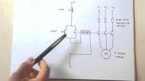 symbols heavenly star delta starter motor control circuit